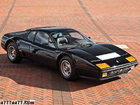 1981 Ferrari 512 BBi = 288 км/ч. 365 л.с. 5.4 сек.