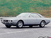 1969 Lancia Flaminia Marica = 193 км/ч. 148 л.с. 9.8 сек.