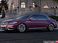 2017 Lincoln Continental = 250 км/ч. 405 л.с. 5.3 сек.