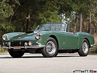 1960 Ferrari 400 Superamerica Passo Corto Cabriolet = 265 км/ч. 340 л.с. 5.3 сек.