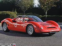 1966 Fiat Abarth 1000 SP = 225 км/ч. 113 л.с. 8 сек.