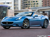 2009 Ferrari California = 309 км/ч. 460 л.с. 4.2 сек.