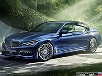 2017 Alpina B7 Bi-Turbo Allrad = 310 км/ч. 608 л.с. 3.7 сек.