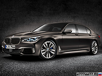2017 BMW M760Li xDrive (G12) = 305 км/ч. 610 л.с. 3.7 сек.