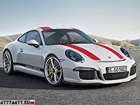2016 Porsche 911 R (991)  = 323 км/ч. 500 л.с. 3.8 сек.