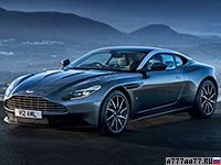 2017 Aston Martin DB11 Coupe = 322 км/ч. 607 л.с. 3.9 сек.