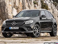 2017 Mercedes-AMG GLC 43 4Matic = 250 км/ч. 367 л.с. 4.9 сек.