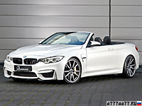 2016 BMW M4 Convertible B&B = 330 км/ч. 580 л.с. 3.5 сек.