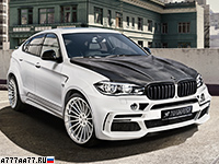2016 BMW X6 M Hamann Widebody (F86) = 300 км/ч. 640 л.с. 4.1 сек.