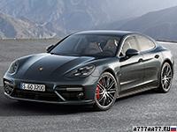 2017 Porsche Panamera Turbo = 306 км/ч. 550 л.с. 3.6 сек.