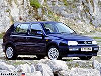 1991 Volkswagen Golf VR6 Syncro (Typ 1H)