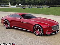 2016 Mercedes-Maybach 6 Vision Concept = 250 км/ч. 750 л.с. 4 сек.