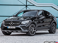 2017 Mercedes-AMG GLC 43 Coupe = 250 км/ч. 367 л.с. 4.9 сек.