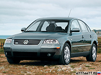 2002 Volkswagen Passat W8 Sedan (B5+)