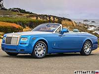 2013 Rolls-Royce Phantom Drophead Coupe Series II = 240 км/ч. 460 л.с. 5.8 сек.