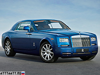 2013 Rolls-Royce Phantom Coupe Series II = 250 км/ч. 460 л.с. 5.8 сек.