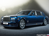 2013 Rolls-Royce Phantom EWB Series II = 240 км/ч. 460 л.с. 6.1 сек.