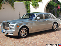 2013 Rolls-Royce Phantom Series II = 240 км/ч. 460 л.с. 5.9 сек.