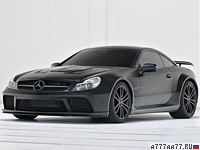 2010 Brabus T65 RS Mercedes-Benz SL65 AMG Black Series (R230) = 330 км/ч. 800 л.с. 3.6 сек.
