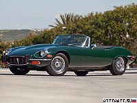 1971 Jaguar E-Type V12 Open Two Seater (S3) = 242 км/ч. 276 л.с. 6.1 сек.