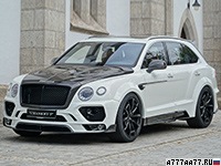 2016 Bentley Bentayga Mansory = 311 км/ч. 701 л.с. 3.9 сек.