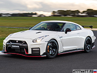 2017 Nissan GT-R Nismo = 320 км/ч. 600 л.с. 2.6 сек.
