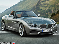 2012 BMW Zagato Roadster = 250 км/ч. 340 л.с. 4.5 сек.