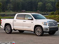 2014 Toyota Tundra Limited TRD Off-Road = 180 км/ч. 381 л.с. 7.8 сек.