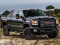 2017 GMC Sierra 2500 HD All Terrain X = 190 км/ч. 445 л.с. 7.7 сек.
