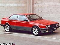 1983 Maserati BiTurbo S = 221 км/ч. 205 л.с. 6.5 сек.