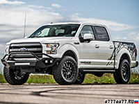 2016 Ford F-150 Hennessey VelociRaptor 700 Supercharged 25th Anniversary = 225 км/ч. 714 л.с. 4.5 сек.