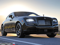 2016 Rolls-Royce Wraith Black Badge = 250 км/ч. 632 л.с. 4.5 сек.