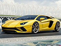 2017 Lamborghini Aventador S = 350 км/ч. 740 л.с. 2.9 сек.