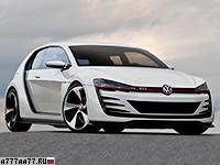 2013 Volkswagen Design Vision GTI Concept
