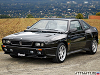 1989 Maserati Shamal = 270 км/ч. 322 л.с. 5.3 сек.