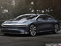 2018 Lucid Air Launch Edition = 270 км/ч. 1014 л.с. 2.7 сек.