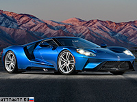 2017 Ford GT = 348 км/ч. 655 л.с. 3.5 сек.