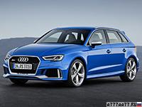 2018 Audi RS3 Sportback (8V)