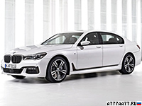 2016 BMW 750d xDrive