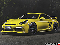 2017 Porsche 718 Cayman (982C) TechArt