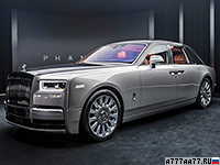 2018 Rolls-Royce Phantom = 250 км/ч. 571 л.с. 5.3 сек.