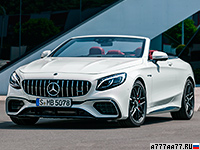 2018 Mercedes-AMG S 63 Cabriolet 4Matic+