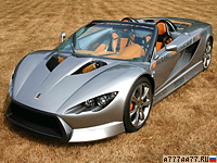 2007 K-1 Engineering Attack Roadster = 250 км/ч. 246 л.с. 4.9 сек.