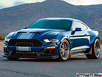 2019 Ford Mustang Shelby Super Snake Widebody = 340 км/ч. 811 л.с. 3.5 сек.