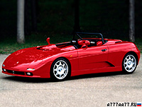 1994 De Tomaso Guara Barchetta = 267 км/ч. 304 л.с. 4.3 сек.