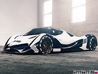 2017 Supercars Devel Sixteen Prototype = 400 км/ч. 1500 л.с. 2.7 сек.