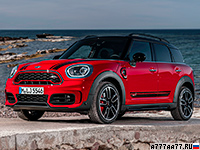 2018 Mini Countryman John Cooper Works = 234 км/ч. 231 л.с. 6.5 сек.