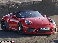 2019 Porsche 911 Speedster (991.2)