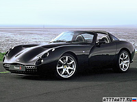 2002 TVR Tuscan S = 306 км/ч. 390 л.с. 3.9 сек.