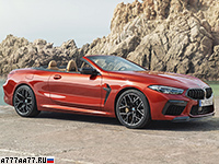 2020 BMW M8 Competition Cabrio (F91)